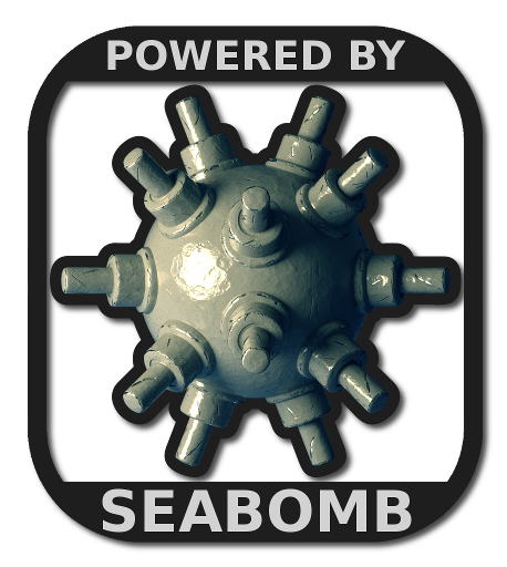 Logo for the SeaBomb game engine.